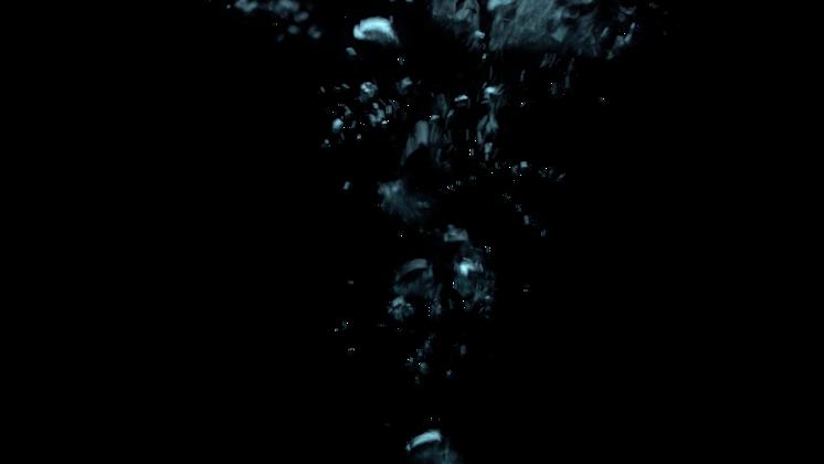 (4K) Underwater Bubble Stream 10 Effect