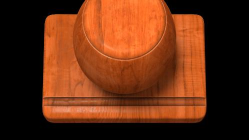 (4K) Wood Stamp Maker Square 2 Effect