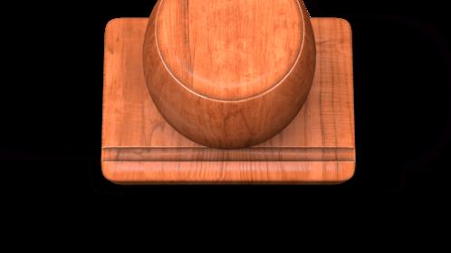 (4K) Wood Stamp Vote 1 Effect