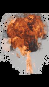 (5K) Gas Explosion 12 Effect