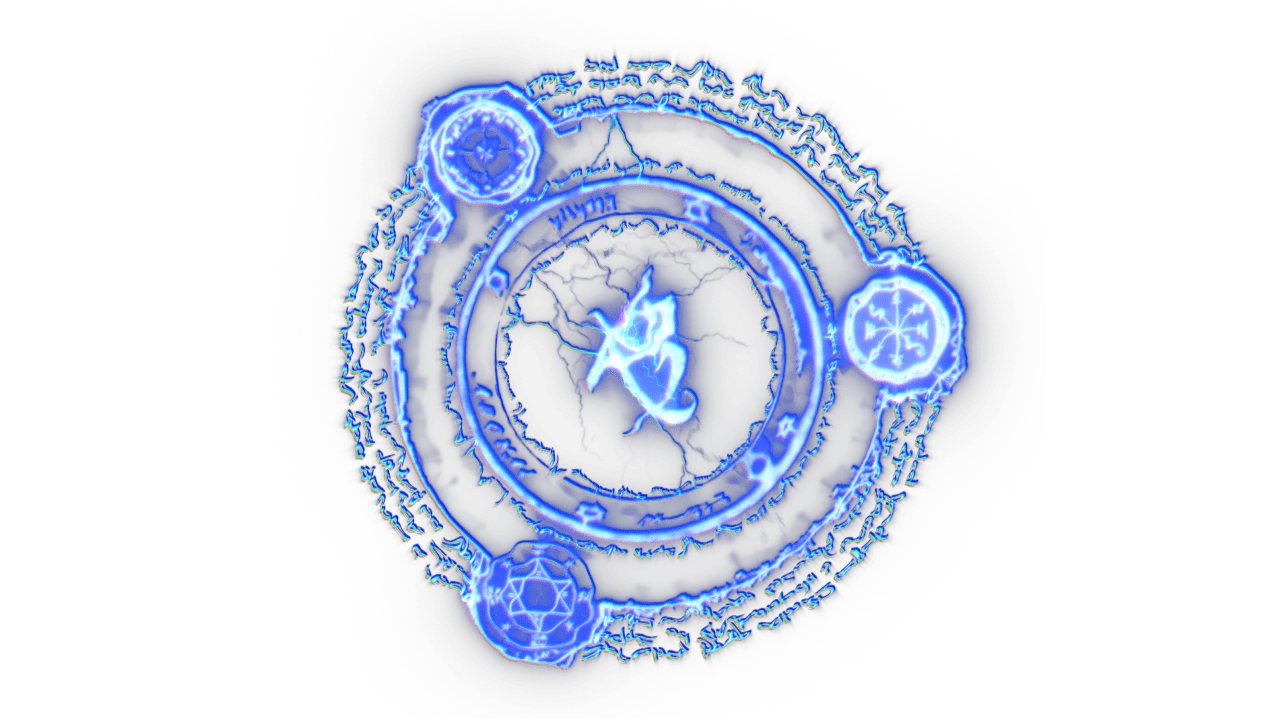 Magic Circle - Electric - Video Effect | FootageCrate