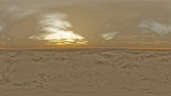 HDRI Desert Terrain 2