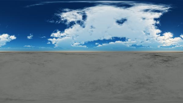 HDRI Desert Terrain 3