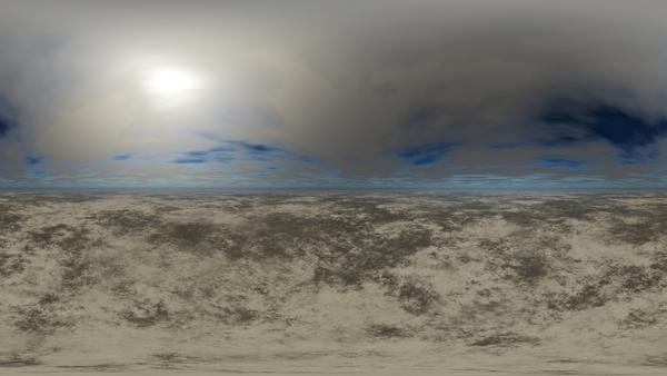 HDRI Desert Terrain