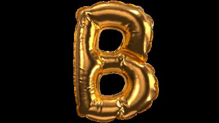Balloon Font B HD 3K