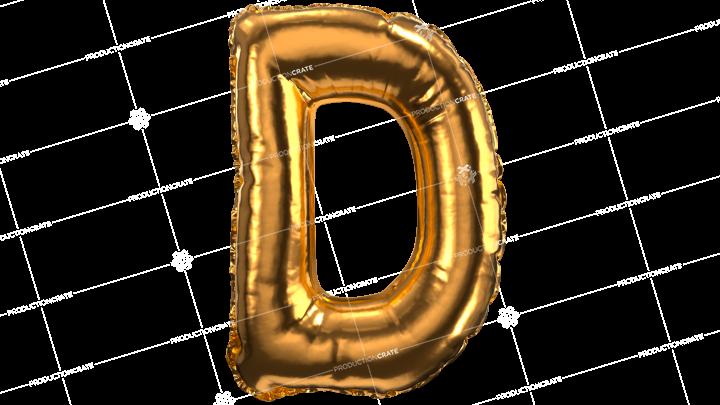 Balloon Font D