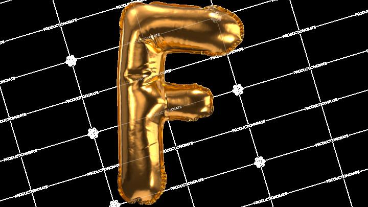 Balloon Font F