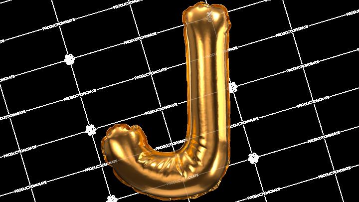 Balloon Font J