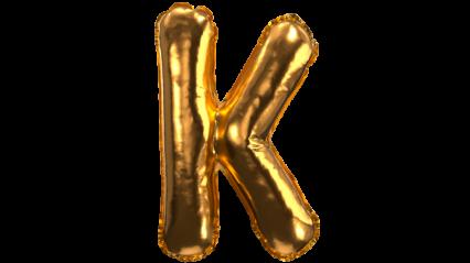 Balloon Font K HD 3K