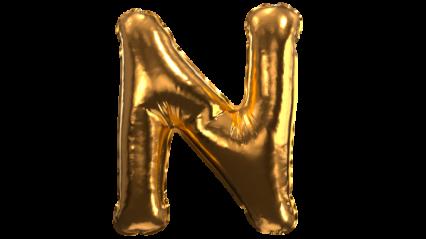Balloon Font N HD 3K