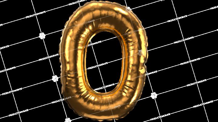 Balloon Font O