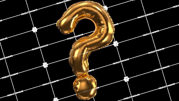 Balloon Font Question Mark