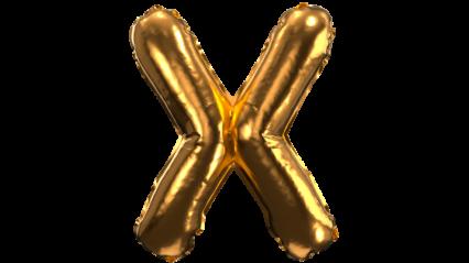 Balloon Font X HD 3K