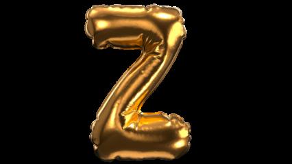 Balloon Font Z HD 3K