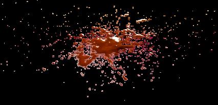 Blood Splatter HD 7K