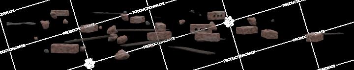 Brick Rubble Pile 10