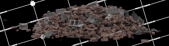Brick Rubble Pile 15