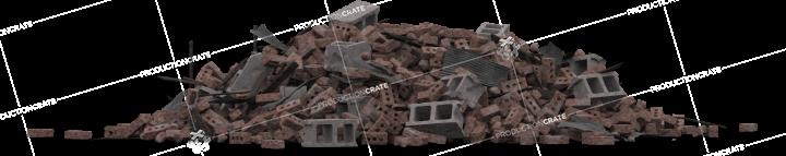 Brick Rubble Pile 16
