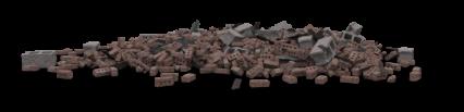 Brick Rubble Pile HD 3K