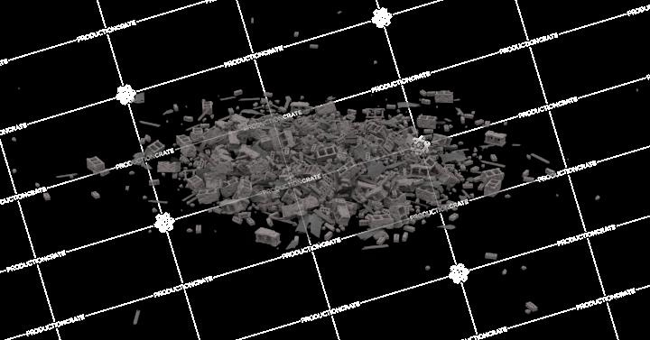 Concrete Rubble Pile 2