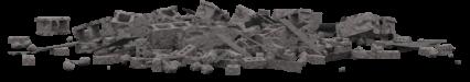 Concrete Rubble Pile HD 3K