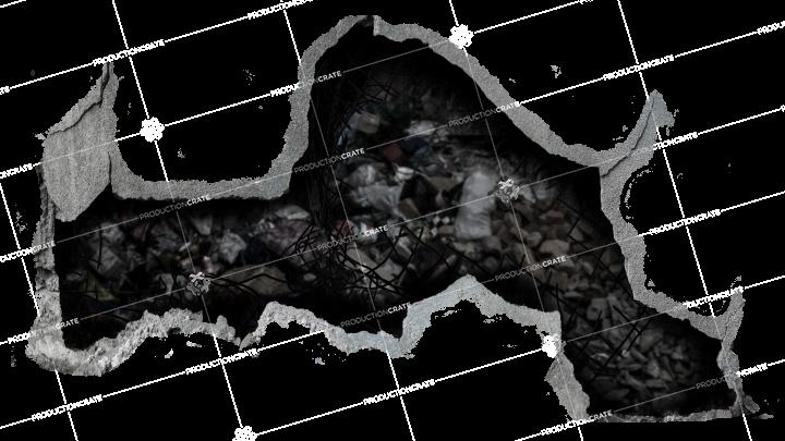 Cracked Hole 3 Masked