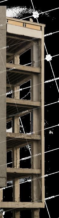 Damaged Building Structure 1 Light
