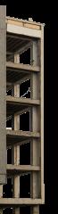Damaged Building Structure 1 Light HD 4K