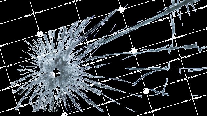 Bullet Hole Glass 1