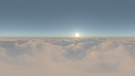 HDRI Aerial Clouds HD