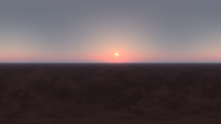 HDRI Desert Eclipse HD