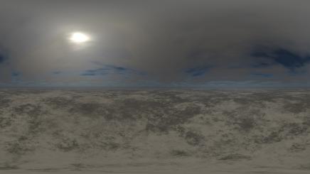 HDRI Desert Terrain HD