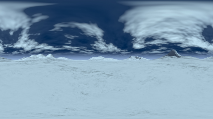 HDRI Ice Terrain HD