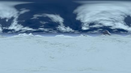 HDRI Ice Terrain