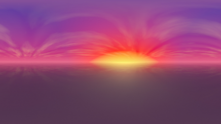 HDRI Ocean Sunset HD
