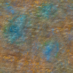 Grunge Colorful Rust Base Color HD 4K