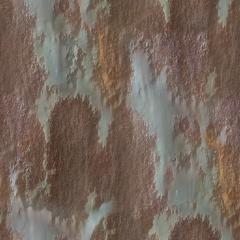 Grunge Rust 3 Base Color HD 4K