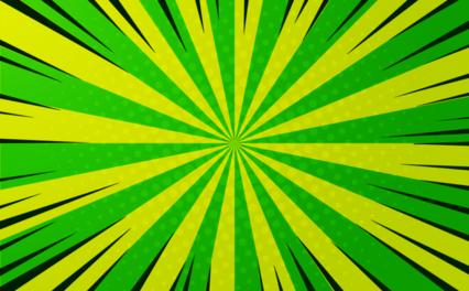Toon Green Bg HD 7K