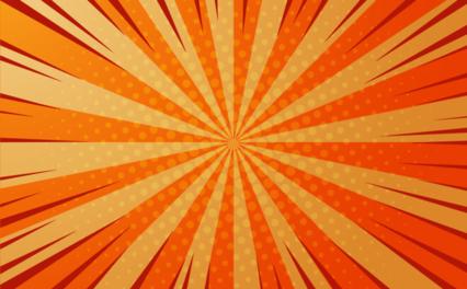 Toon Orange Bg HD 7K