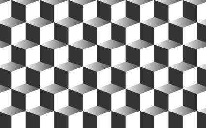 Black Gradientcube Bg HD 7K