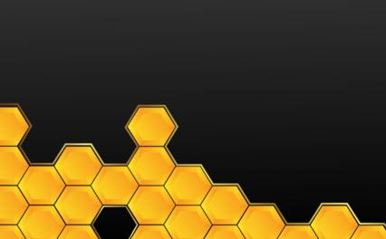 Honeycomb Bg Black HD 7K