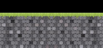 Pixel Brick Grey HD 8K
