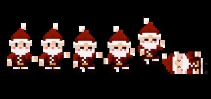 Pixel Santa HD 8K