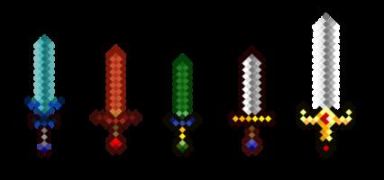 Pixel Sword HD 16K