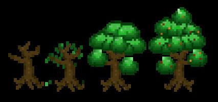Pixel Trees HD 16K