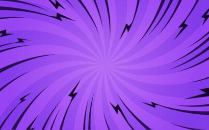 Popart Purple Twist Bg