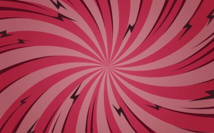 Popart Red Twist Bg HD 14K