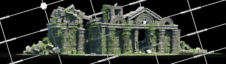 Temple Ancient Ruins 03