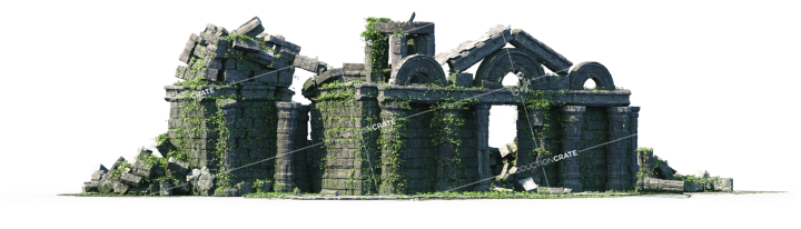 Temple Ancient Ruins 09