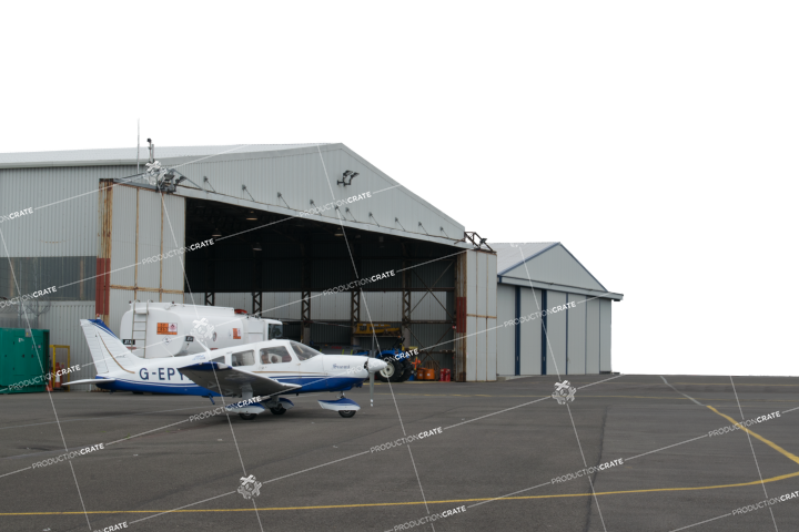 Airport Hangar HD 6K